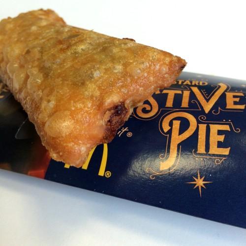 McDonalds Festive Mince Pie