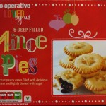 2015 The Co-Operative 6 Deep Filled Mince Pies Box
