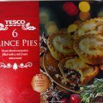 Tesco 6 Mince Pies Box