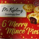 Mr Kipling Merry Mince Pie Box
