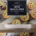 2017 Tesco Finest All Butter Mini Mince Pies Box 1
