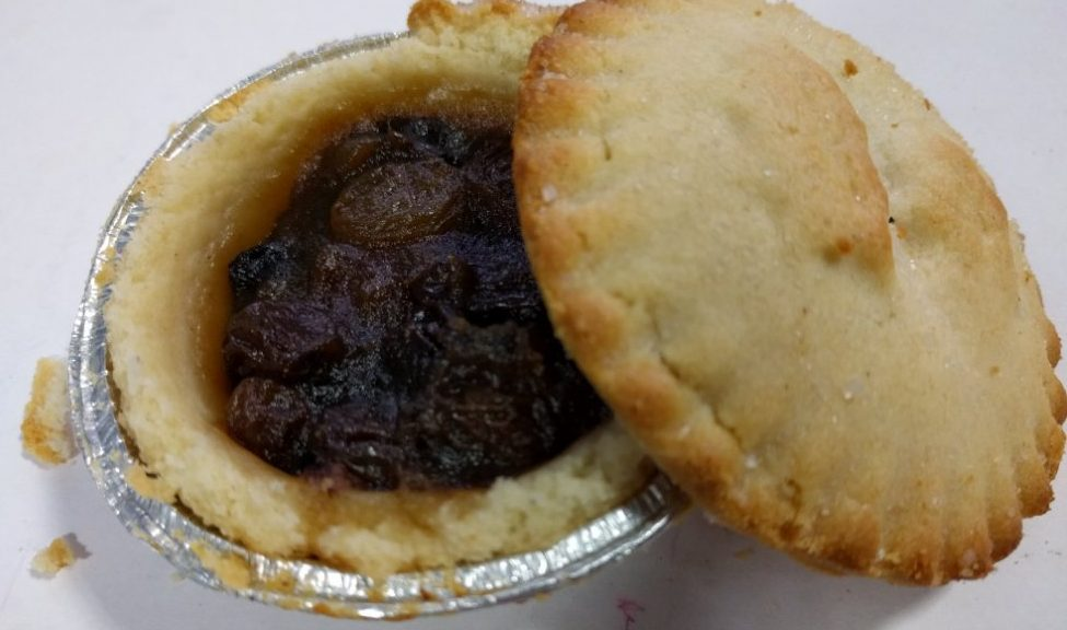 2017 Sainsbury's Deep Filled Mince Pie