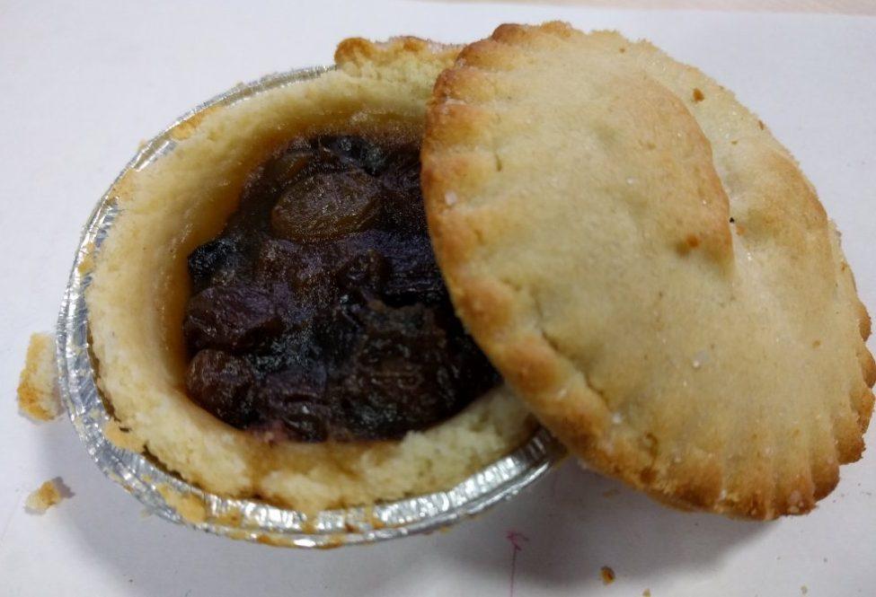2017 Sainsbury's Deep Filled Mince Pie