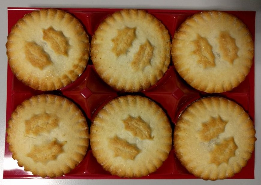 2017 Sainsbury's Deep Filled Mince Pies Packaging