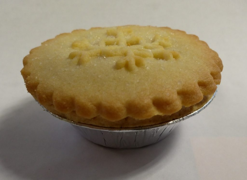 2019 Tesco Finest All Butter Pastry Mince Pie 1