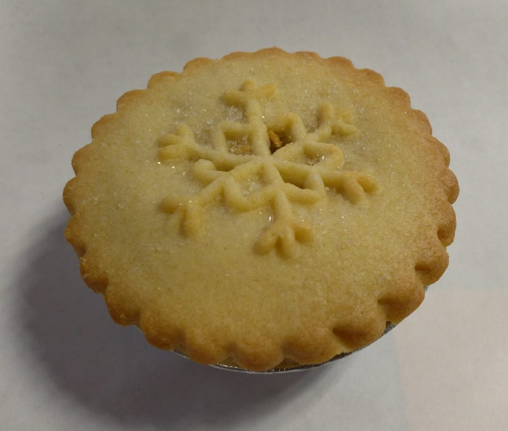 2019 Tesco Finest All Butter Pastry Mince Pie 3