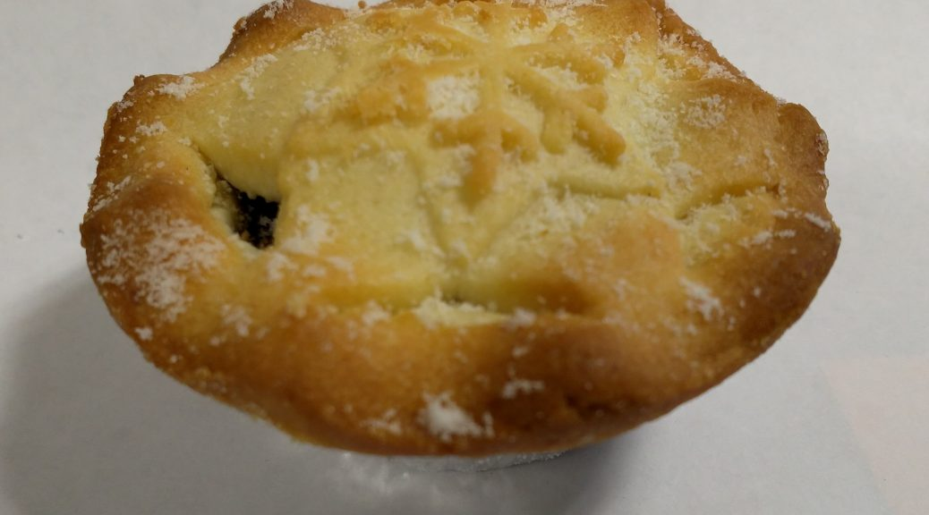 Aldi Specially Selected All Butter Mince Pie