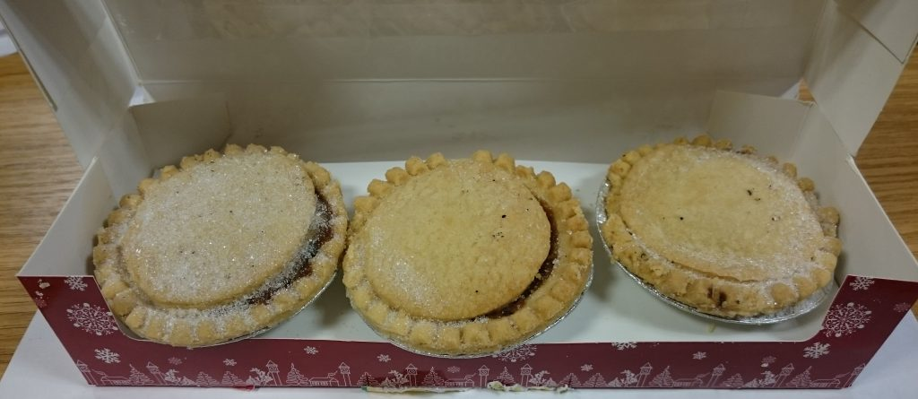 2019 Bramley Village Bakery Shortcrust Mince Pie Box 4