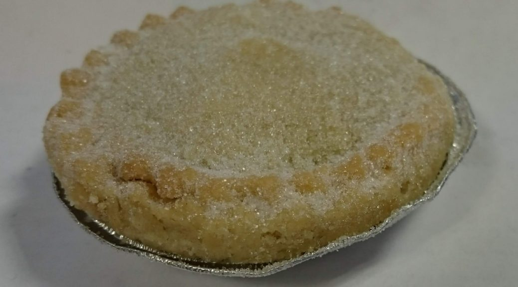 2019 Sainsbury's Bakery Baked in store Mince Pie 3