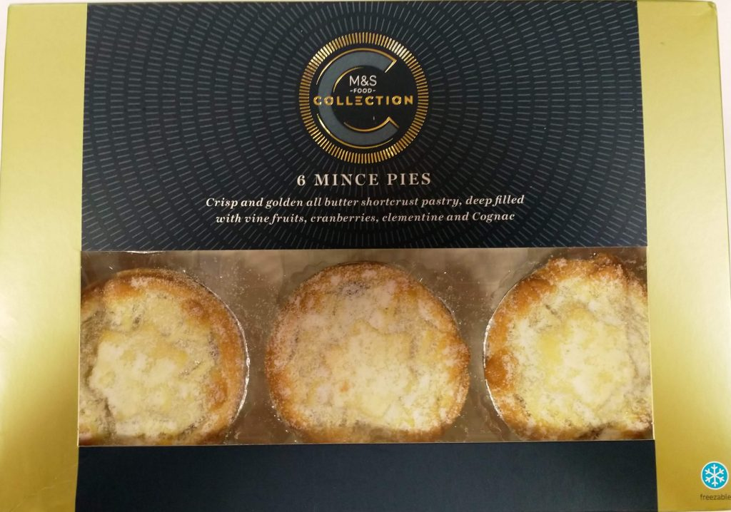 2019 M&S Collection Mince Pies Box 1