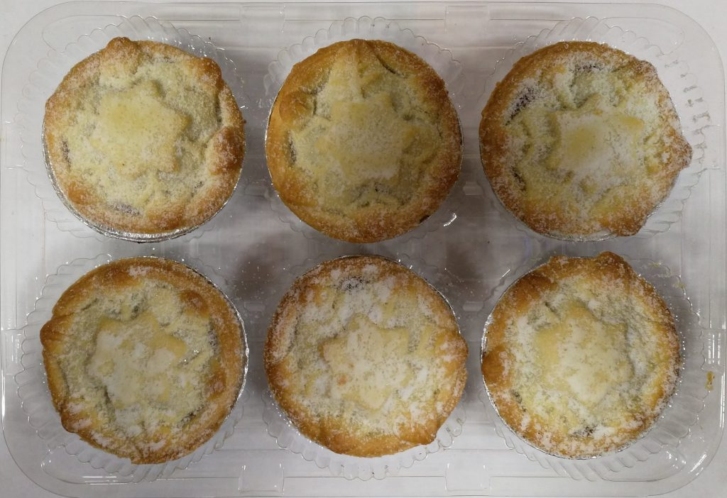 2019 M&S Collection Mince Pies Packaging