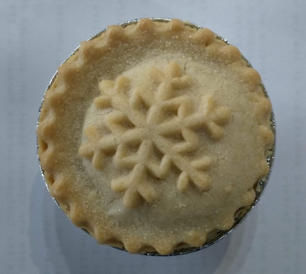 2019 Waitrose No1 All Butter Mince Pie 1