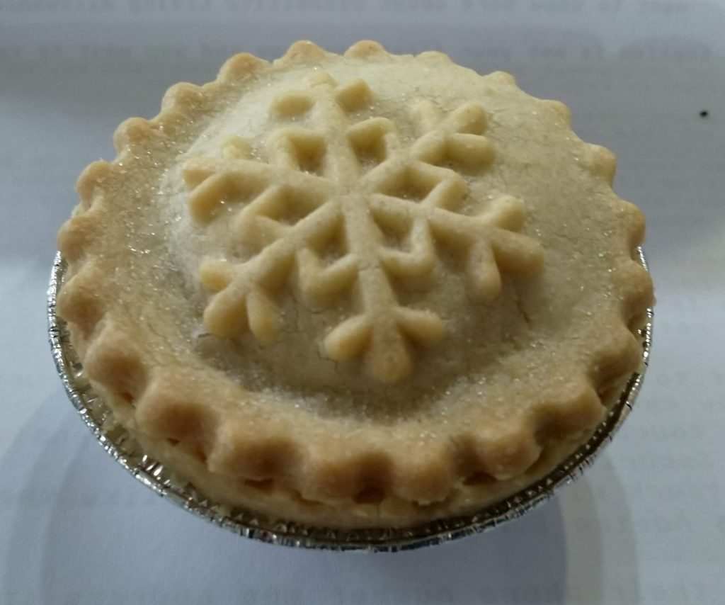 2019 Waitrose No1 All Butter Mince Pie 4