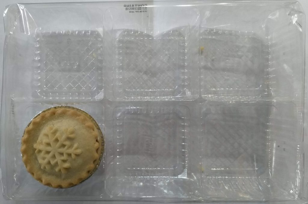 2019 Waitrose No1 All Butter Mince Pies Packaging